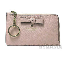 NWT Kate Spade POPPY Leather Wallet Coin ID Card Case Key Chain WLRU5031
