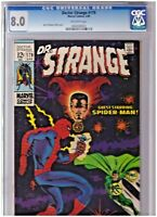 Dr Strange #179 CGC 8.0 Off White Pages  Spidey Cover! Barry Windsor Smith!!