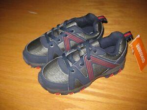 NWT Gymboree Uniform Shop size 13 Gray Blue Tennis Shoes