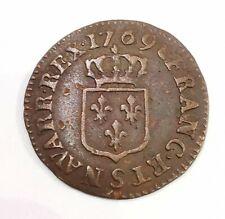 Pièce Liard 1769 S FRANCE. AD4059