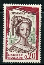 STAMP / TIMBRE FRANCE OBLITERE N° 1301 / CELEBRITE / LA CHAMPMESLE