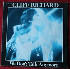 Cliff Richard, we don't talk anymore / count me out, SP - 45 tours