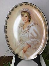 The Peoples Princess Diana Queen Hearts Limited Edition Plate WITH STAND