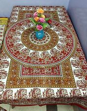 Tablecloth Rectangular Cotton Dining Table Cover Mandala Kitchen Banquet SC4