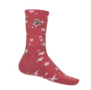Billionaire Boys Club BB Star Sock 811-3807 Georgia Peach 2021 Brand New