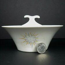 Iroquois China Lidded Sugar Bowl Impromptu Stellar Pattern Ben Seibel MCM