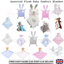 Elli and Raff Baby First Steps Comfort Plush Blanket Cot Toys Rabbit  0+ Month