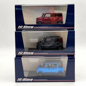 Hi-Story 1/43 Suzuki Spacia Gear Hybrid XZ Turbo 2019 HS237 Resin Model Limited