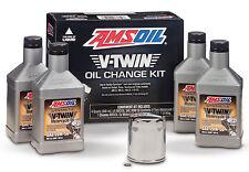 AMSOIL V-Twin Oil Change Kit 1999-2017 Harley Davidson