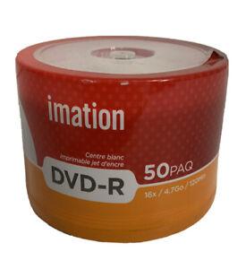 IMATION DVD+R 50 Pack DVD Recording Discs Still Sealed