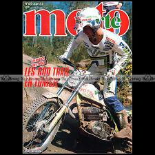 MOTO VERTE N°122 BACOU HUBERT AURIOL YAMAHA XT 600 HONDA XL KAWASAKI KLR 1984