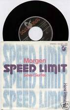 "Speed Limit ~ Morgen/Silver Surfer ~ 1980 alemán 7"" Single + P/S"