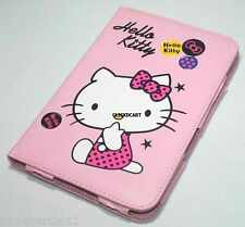 Hello Kitty Book PU Cover Leather Case For Samsung Galaxy Tab2 P3100 P3110 P1000