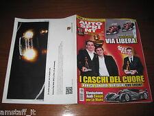 AUTOSPRINT 2010/50=CASCHI D'ORO=KUBICA=ZANARDI=AUDI A6=PUBBLICITA' PORSCHE=