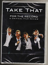 TAKE THAT - FOR THE RECORD - A CRITICAL FILM REVIEW - NEW & SEALED R2 PAL DVD