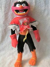 1995 MCDONALD'S - THE MUPPETS - ANIMAL - NHL HOCKEY PLUSH TOY - GREAT GIFT ITEM!