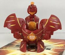 Bakugan Aranaut Pyrus Red 730G Figure Gundalian Invaders DNA Bird Ball +Card
