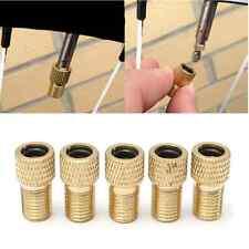 5X Converter Presta to Schrader Bicycle Bike Valve Adaptor Tire Tube Pump Set US