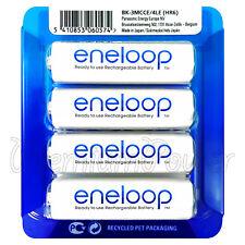 4 x Panasonic eneloop AA 1900 mAh batteries BK-3MCCE/4LE NiMh Rechargeable HR03