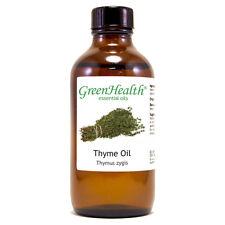 4 fl oz Thyme Essential Oil (100% Pure & Natural) - GreenHealth
