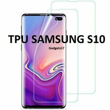 FOR SAMSUNG Galaxy S10 S20+ S8 S9 Plus 5G TPU Screen Protector COVER