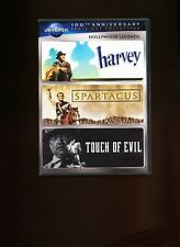 Harvey - Touch of Evil - Spartacus - Three movies on Dvd