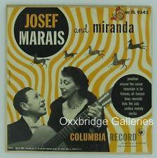 JOSEF MARAIS South African LP Miranda COLUMBIA Zulu Umbira VINYL RECORD