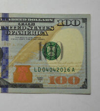 VERY RARE 2009 A $100 04.04.2016 Birthday Note Gift Serial Number US Bill Note