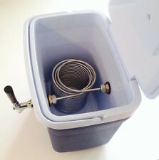 Portable Kegerator Beer Jockey Box keg Single Faucet Draw Box 50ft Coil