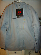 MAMMUT TRIFT INSULATED PARKA JACKET MEN'S X-LARGE (XL) GRANIT MELANGE SRP $500