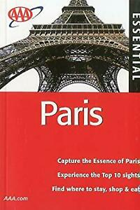 AAA Essential Paris Paperback Elizabeth Morris