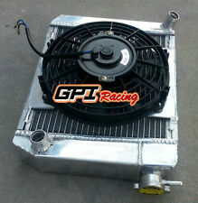 50mm Aluminum Radiator&Shroud&Fan for 1959-1997 AUSTIN ROVER MINI COOPER 1275 MT