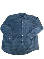 Country Club By Fletcher Jones Mens Checked Button Up Shirt Size M