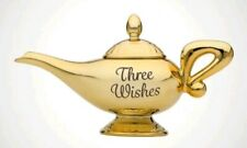 """ALADDIN LAMP TEA POT """"Three Wishes"""" Perfect Gift for Any Ocassion ."""