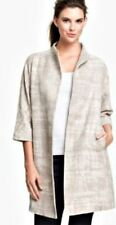 Eileen Fisher S Solid Regular Size Coats & Jackets for Women
