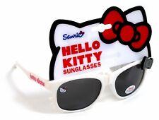 Girls Hello Kitty White Hearts Sunglasses 4-10 years