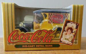 1993 Ertl 1923 Chevrolet Panel truck Coca Cola 1:25 scale coin bank