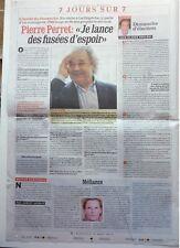 Journal régional 2010: PIERRE PERRET_JEAN FERRAT_Les lâchers d'OURS