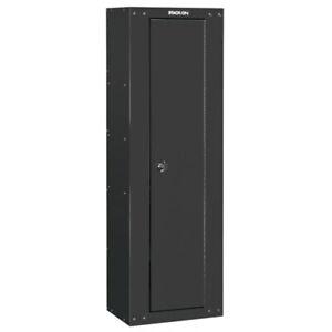 Stack-On 8 Gun Ready to Assemble Locking Security Storage Cabinet Safe, Black