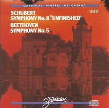 Schubert - Symphony 8 • Beethoven - Symphony 5 / The Ljubljana SO of Yugoslavia