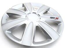 """Radkappen Radzierblenden Wheel Cover Crystal Black 15/"""" Zoll  4-teilig  von TN"""