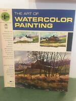 Grumbacher Vtg Art of Watercolor Painting 1966 How To Instruction Book 40009