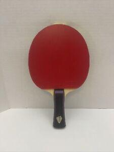 Xiom OMEGA IITable Tennis Ping Pong Racket, Paddle • Silla Quantum Pro Handle