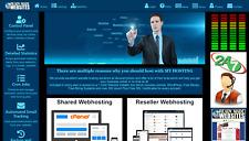 Ready Made Reseller Webhosting Website Free Billing System Included
