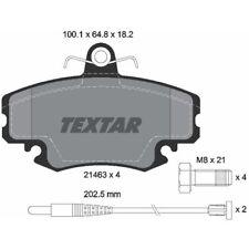 TEXTAR Original Bremsbelagsatz, Scheibenbremse Vorderachse Renault, 2146304