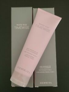 2 pack Mary Kay TimeWise 4 in 1 Cleanser Age Minimize 3D Normal to Dry FRESH