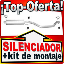 Silenciador Intermedio OPEL SIGNUM VECTRA C 2.0 2.2 DTI Direct 3.0 3.2 V6  EEL