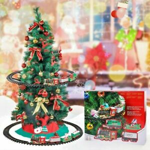 Christmas Tree Train Set Attaches To Your Tree 89cm Diameter Realistic Sound