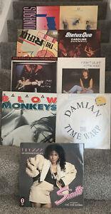 "9 x 12"" Vinyl 12"" Singles Bundle, Job Lot. All In Good Condition + 80s Pop 3527"
