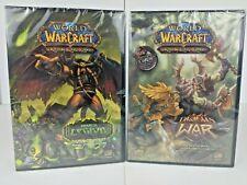 World of Warcraft TCG 2-Player Starter Deck and PVP Battle Deck 2 deck lot